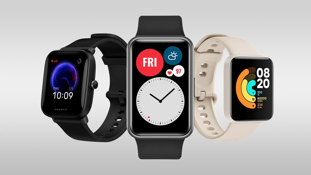 Tanie smart zegarki można znaleźć w ofercie znanych producentów