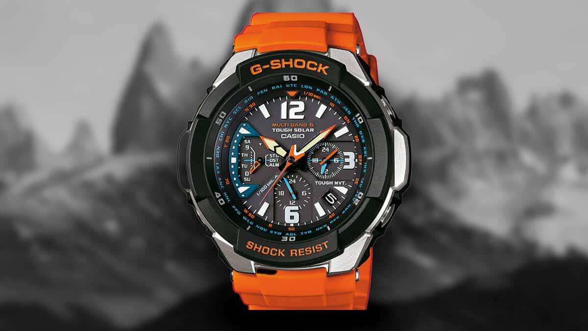 Wytrzymały zegarek Casio GW-3000M-4AER