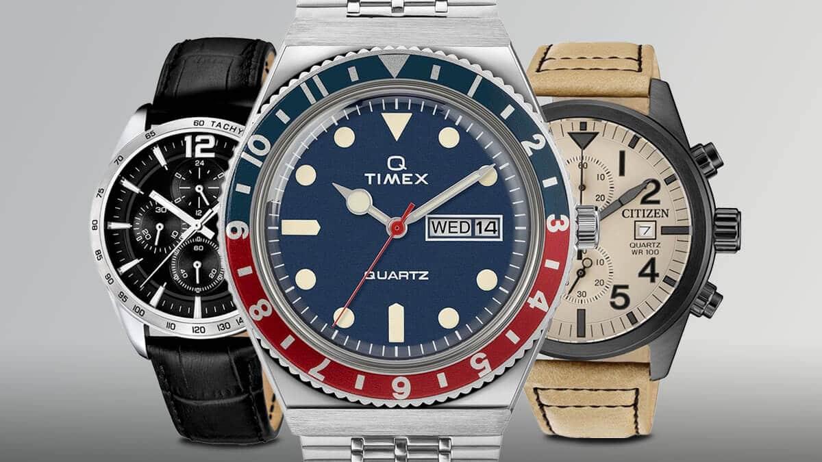Tanie zegarki męskie można znaleźć w portfolio znanych producentów