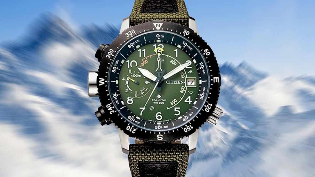 Japoński zegarek outdoorowy z edycji Citizen Promaster Land