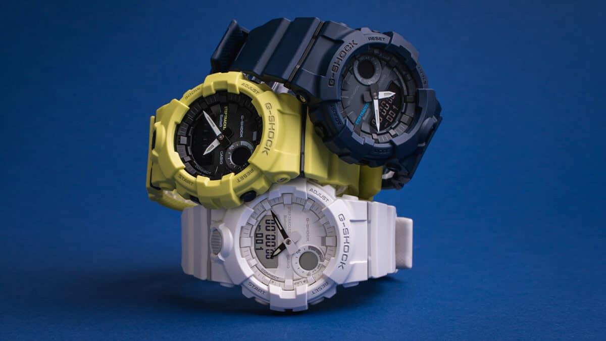 Marka Casio i jej modele G-Shock z gumowymi paskami