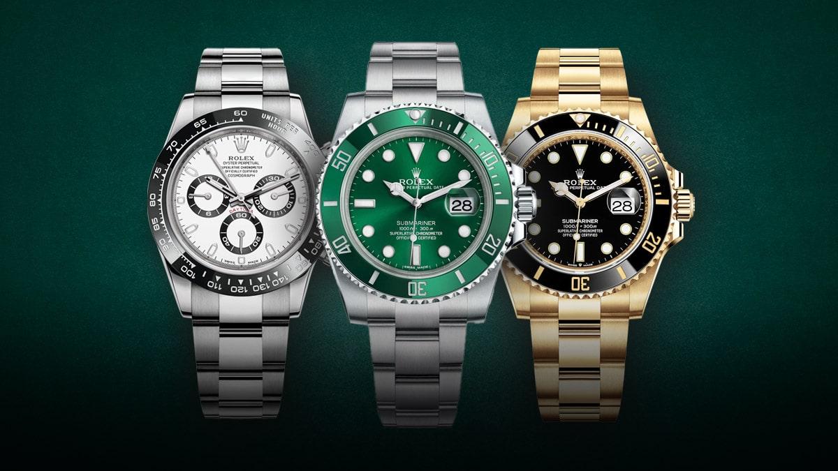 Legendarne zegarki Rolex