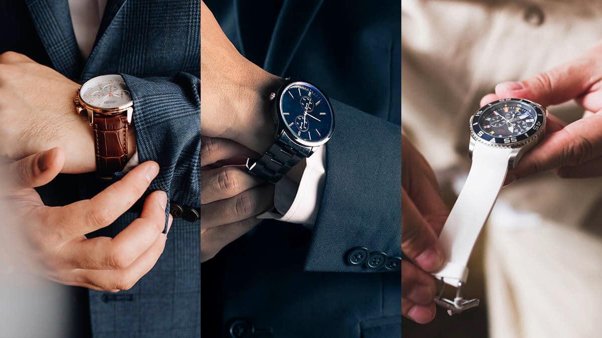 Czy znasz wszystkie modele bransolet i pasków do zegarków?