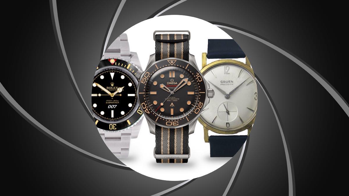 Przedstawiamy marki zegarków, które pojawiły się w filmach o Jamesie Bondzie