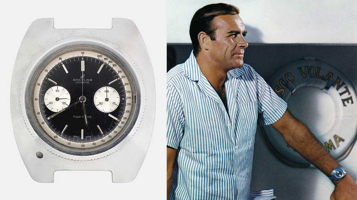 Zegarek Breitling w filmie Thunderball