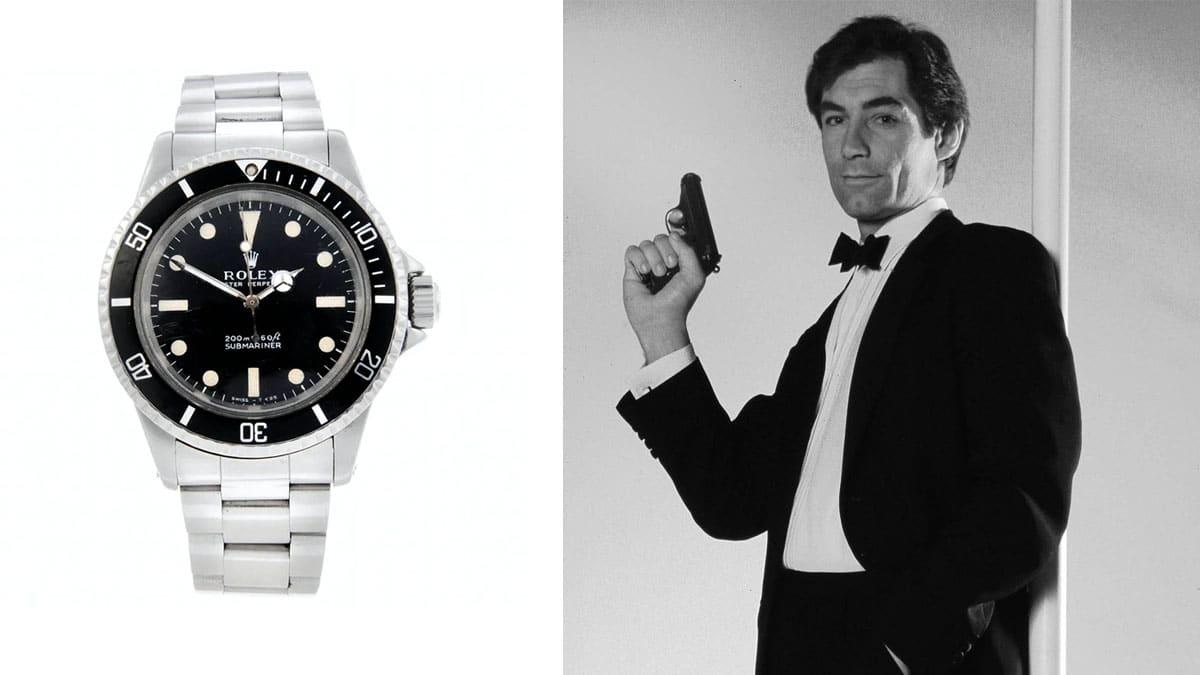zegarki James Bond - Rolex Submariner / Timothy Dalton