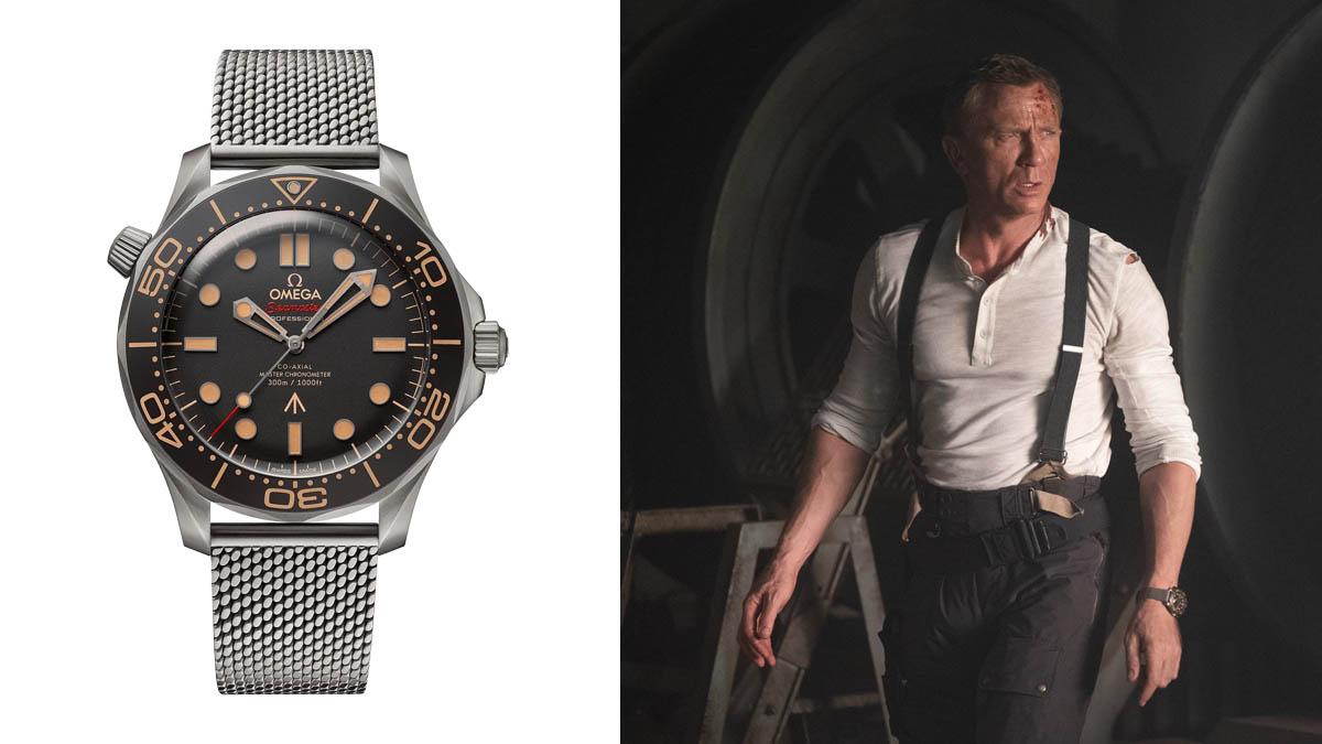zegarki James Bond - Omega Seamaster Diver 300M 007 James Bond Watch