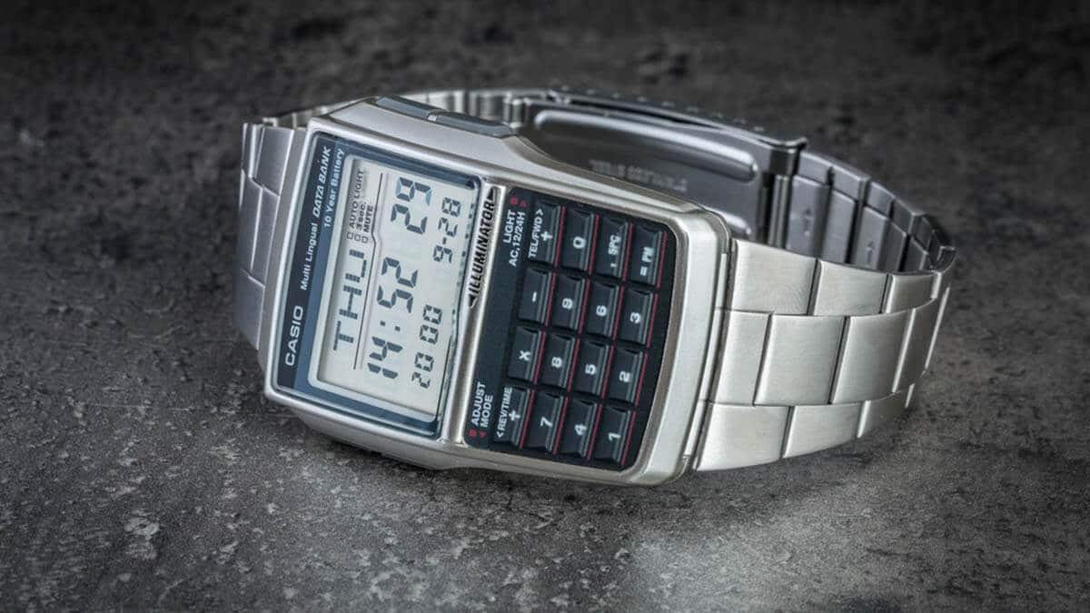 Zegarek z kalkulatorem Casio DBC-32D-1AES